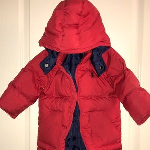 Ralph Lauren Quilted Baby Winter Suit